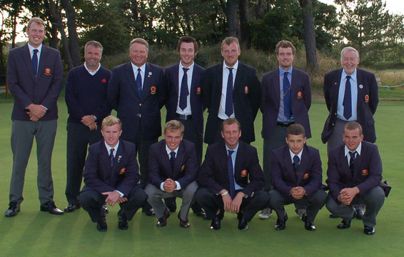 2013 Northern Counties Team with the President