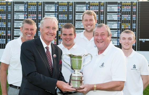 S&A English Club Champions with England Golf President Ray Saunders