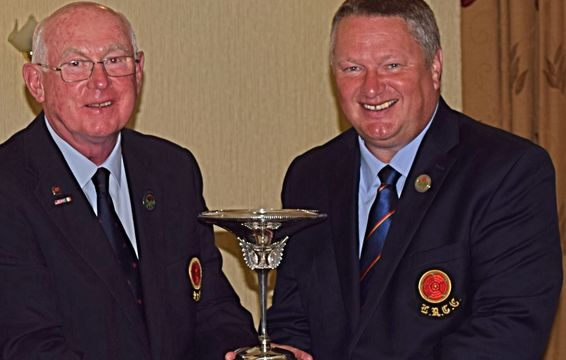 Collinge Trophy Winner 2015 - Our County Secretary, Phil Harvey of Fairhaven