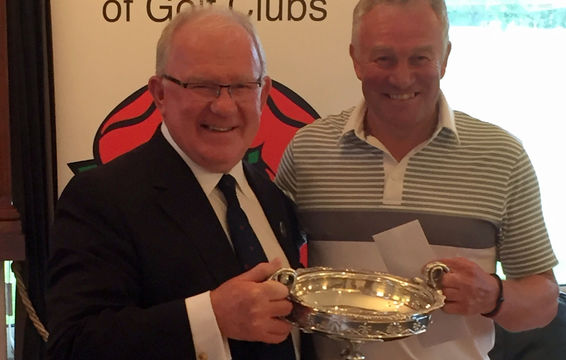 Tony Holt, 2016 Seniors Champion, 3rd title in a row