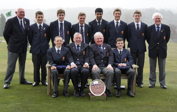 Lancashire Boys 4 Counties Winners 2013