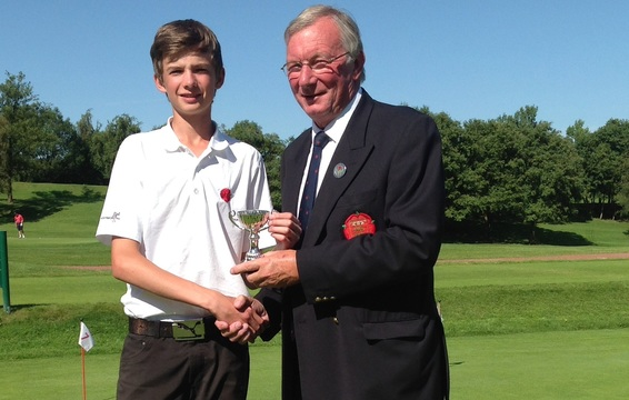 Luke Kelly Under 16 Champion 2014