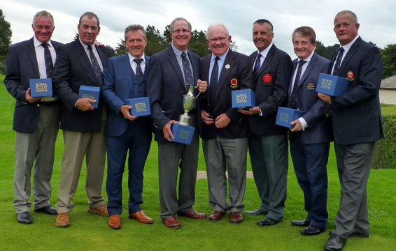 Lancashire Seniors win England Golf Northern Qualifier