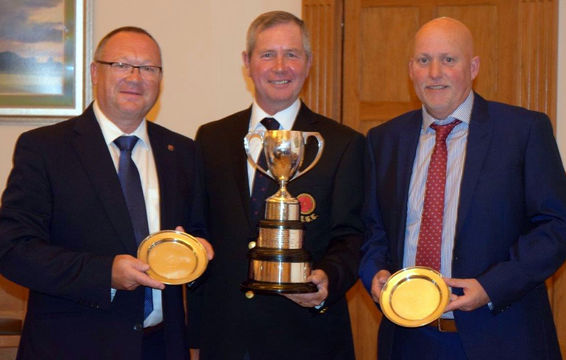 Bell Trophy 2017 - Pete Guy & Derek Grimes of Grange Park GC