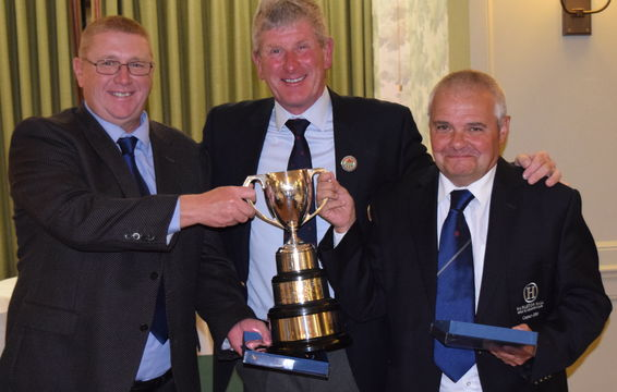 Bell Trophy 2018 - Mark Rimmer & Ian Kinsey of Hurlston Hall