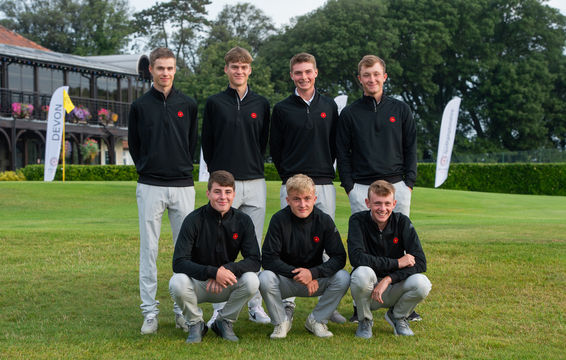 Boys Team at English County Finals 2019