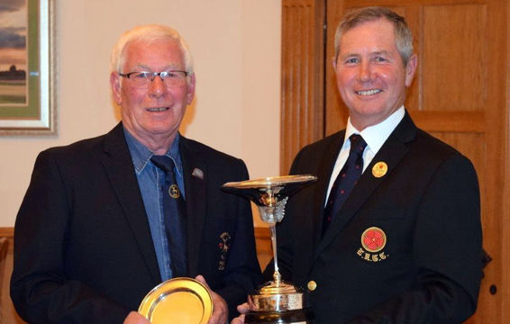 2017 Collinge Trophy - Bryan Knowles of Rossendale GC