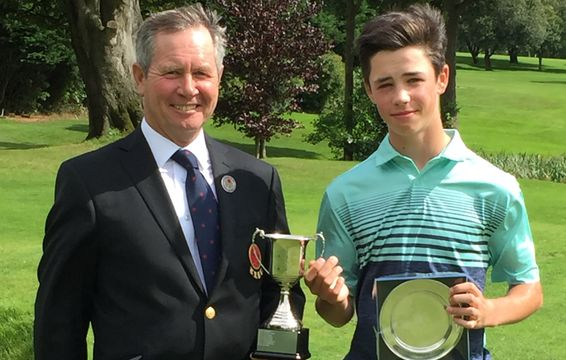 Jack Wallbank - 2017 Under 14 Champion