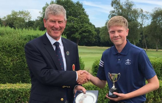 2018 Under 16 Champion, Keiran Hogarth