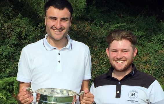 Chris Carney & Steven Chester of Morecambe - County Foursomes 2019