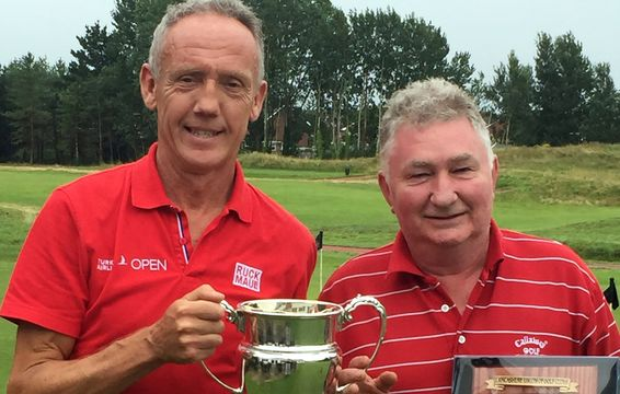 Kevin Davies & Dave Heyworth of Burnley Golf Club - Handicap Foursomes 2019