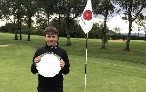 Will McGhie - Best Nett in 2020 Lancs Amateur Champs