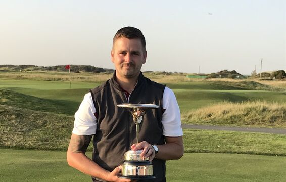 Collinge Trophy Winner 2020 - Gavin Sutcliffe from North Manchester Golf Club